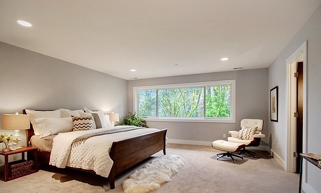Not your ordinary master bedroom ...